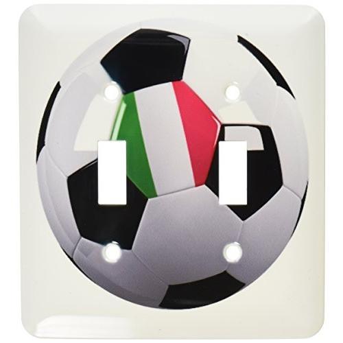 3drose LSP _ 157026·_ 2サッカーボールwith the National Flagイタリアのon itイタリアダブル切り替えスイ