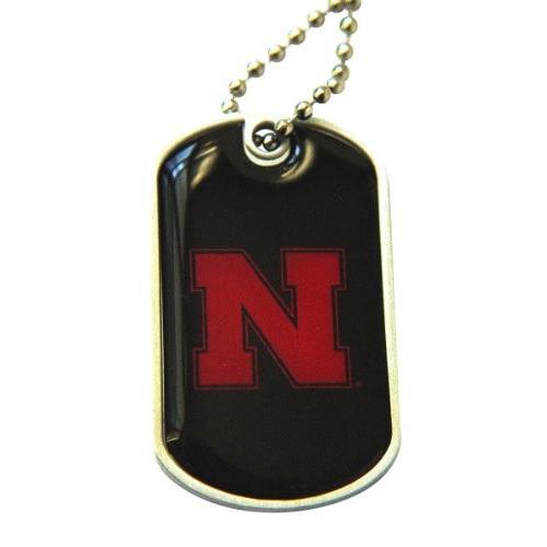 Nebraska Cornhuskers犬タグネックレスチャームチェーンNCAA