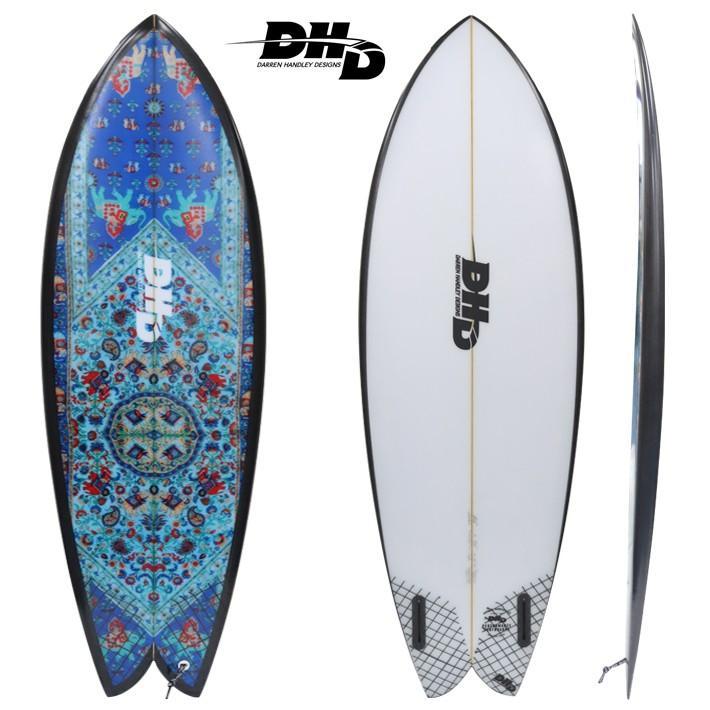"""DHD SURFBOARDS DHD サーフボード Mini Twinミニツイン Mandala Sky 5'5"""""""