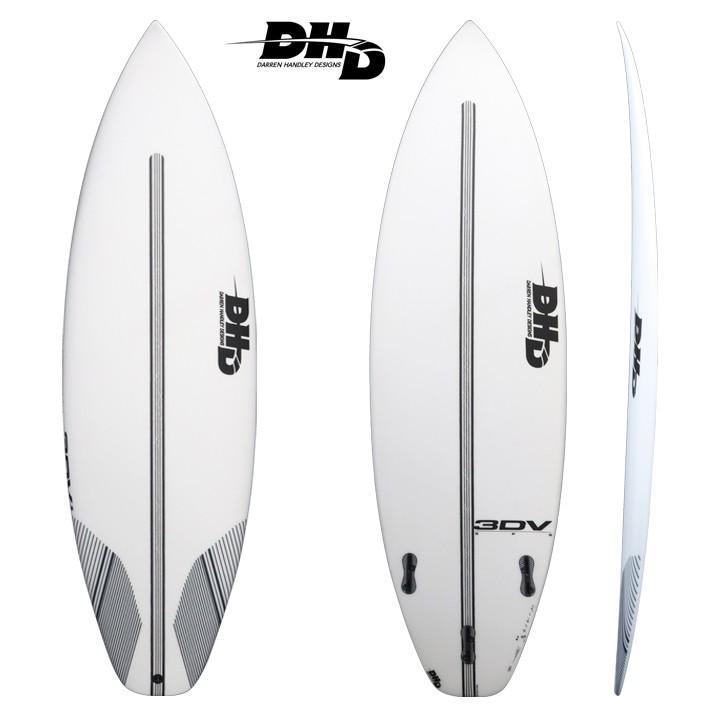 "【DHD SURFBOARDS】DHD サーフボード 3DV EPS 5'9"" 28L FCS2 3DV EPS 送料無料!"