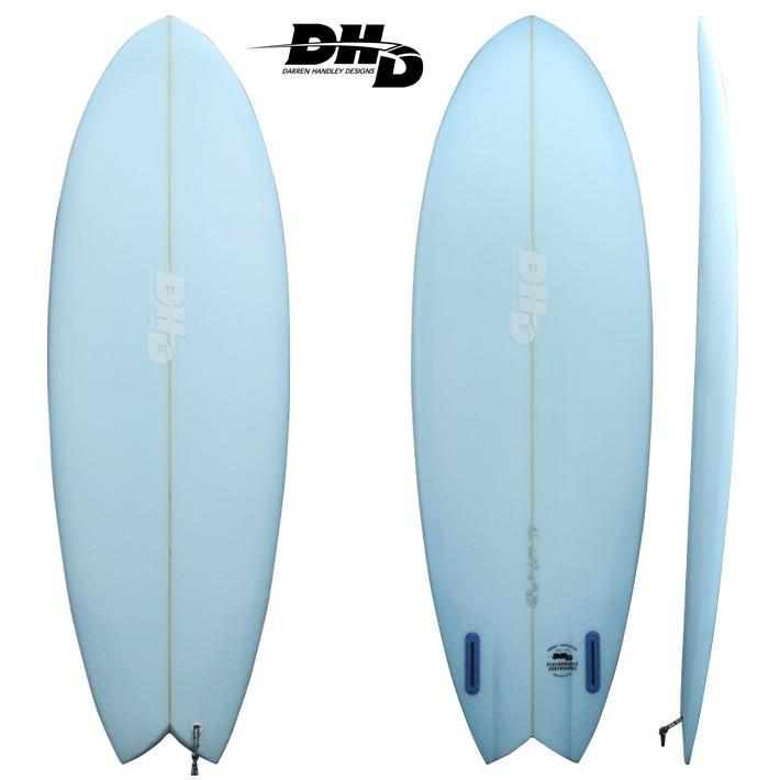 人気激安 【DHD SURFBOARDS】DHD サーフボード MINI TWIN2 ミニツイン2 5'7 32L BLUE RESIN TINT FUTURE, EST premium f9c80501