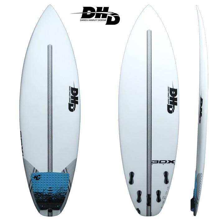 """ラウンド  【】サーフボード 使用状態 【A】★★★ 【DHD SURFBOARDS】DHD サーフボード 3DX EPS 5'9"""" 28.5L FCS2 5FIN 日本のビーチブレイクにはピッタリのモデル, ヤマダムラ 1d14c034"""