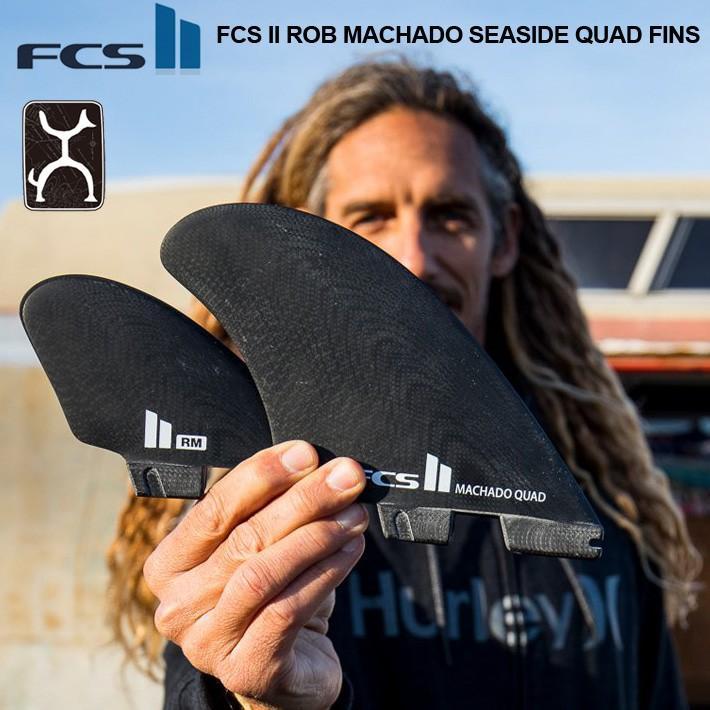 【半額】 FCS2 フィン エフシーエス2フィン ROB MACHADO SEASIDE QUAD FINS ロブマチャド シーサイド クワッドフィン サーフィン サーフボード FIN4本セット 送料無料!, ミヤザキムラ e0217ff9