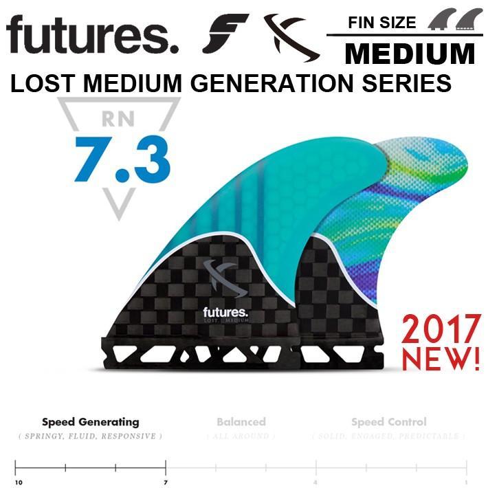 最も信頼できる 【FUTURES FIN】フューチャーフィンRTM LOST LOST MEDIUM GENERATION 送料無料 SERIES FIN 【FUTURES 送料無料 メイヘム LOST, 家具のワカコー:3252edc7 --- airmodconsu.dominiotemporario.com