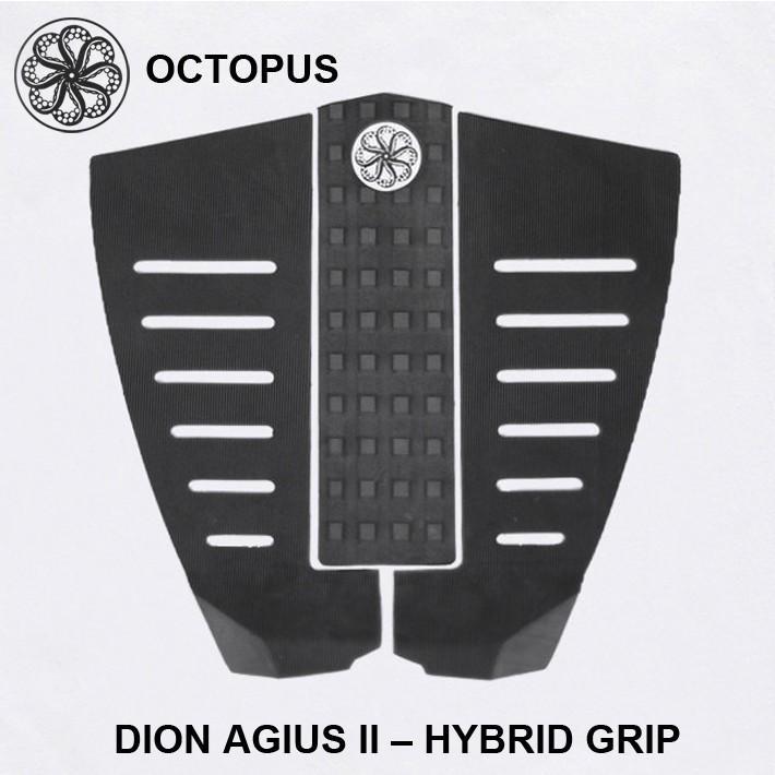 OCTOPUS オクトパス デッキパッド DION AGIUS 2 HYBRID GRIP ディオン・アジウス モデル サーフィン デッキパッド 3ピース