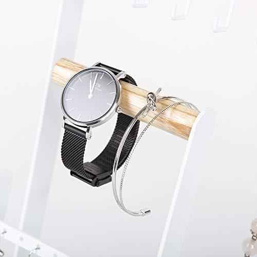 Calife 北欧インテリア ジュエリー収納アクセサリースタンド 6枚巾着袋贈り ツリー型ホルダー ネックレス・イヤリング・ブレスレット・腕時計・シュ|twopieces|04