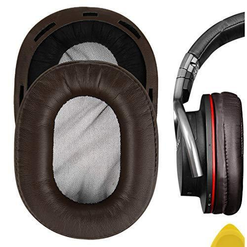 Geekria イヤーパッド Sony MDR-1R, MDR-1RMK2 ヘッドホンパッド イヤークッション (コーヒー/ブラウン)|twopieces