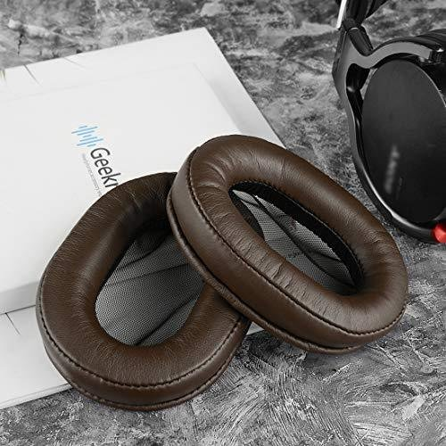 Geekria イヤーパッド Sony MDR-1R, MDR-1RMK2 ヘッドホンパッド イヤークッション (コーヒー/ブラウン)|twopieces|04