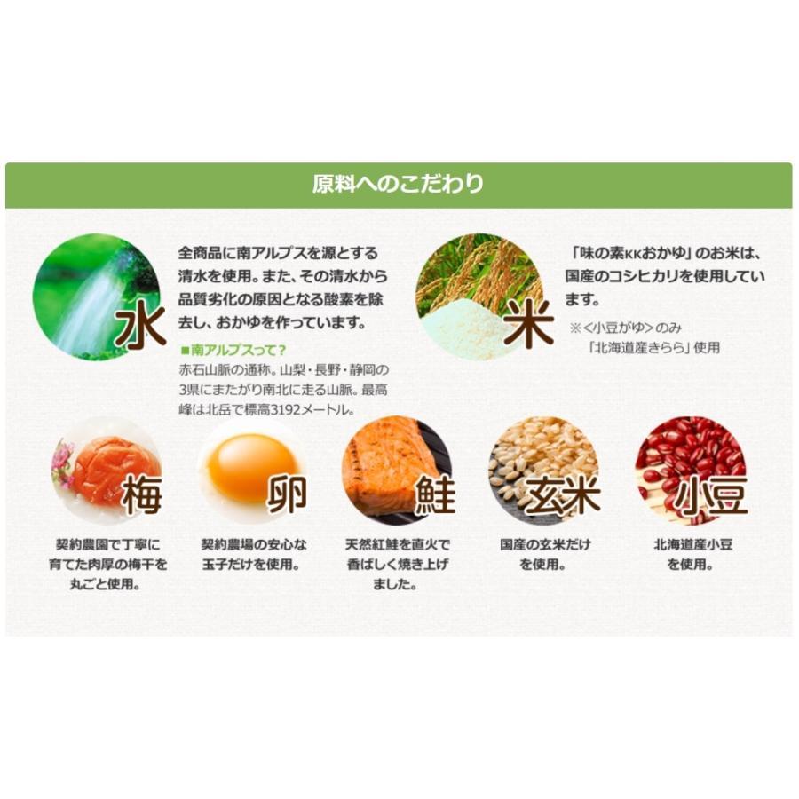 味の素 味の素KKおかゆ 梅がゆ 250g 9個 送料無料(沖縄・離島発送不可) tybay-store 03