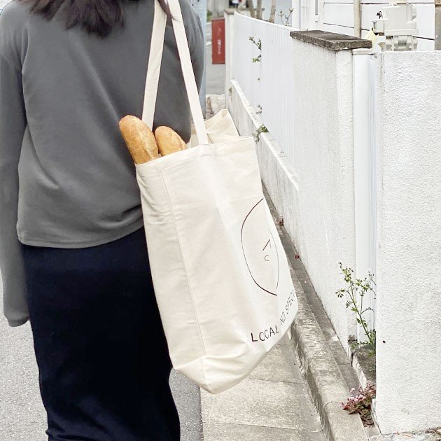 MAM CAFE / MAM GRAND TOTE エコバッグ トートバッグ 持ち手 長め 大きめ|tycoon|03