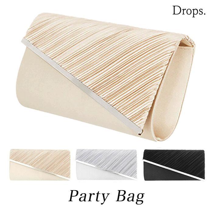 パーティーバッグ 大きめ 結婚式 バッグ パーティー クラッチバッグ ショルダー シルバー縁 クラッチバッグ dspg002|tyi