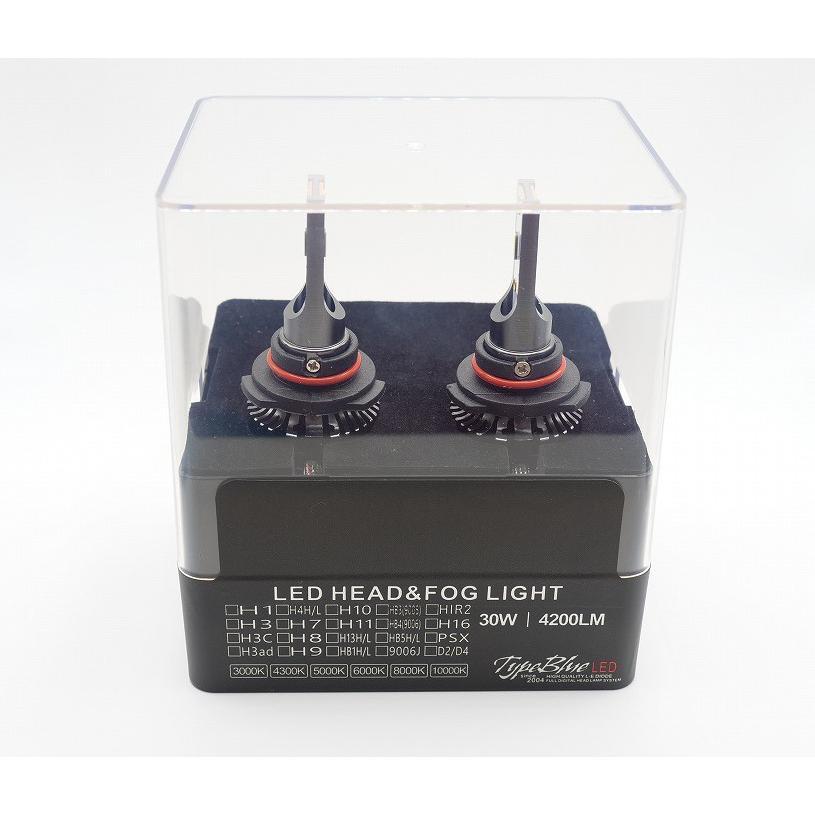 永久保証トヨタ スープラ JZA80用 9006JスマートLEDキット 2灯1セットTypeBlue 30W 6000K スーパーホワイト色 車検対応色|typebluejp