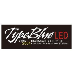 トヨタソアラ JZZ30・UZZ30用 H3スマートLEDキット 2灯1セットTypeBlue 30W 4300K クリームホワイト色 車検対応色 typebluejp 10