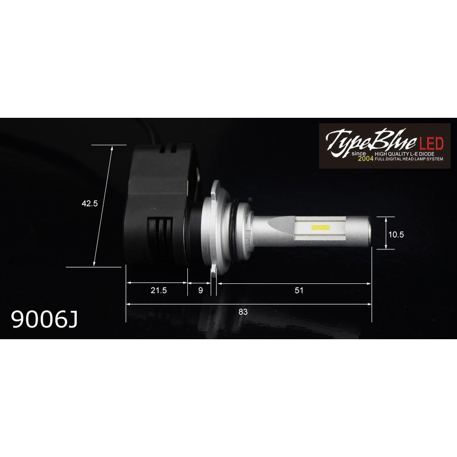 TypeBlue Smart LEDキット30W 9006J 6000K 【永年保証】|typebluejp|03