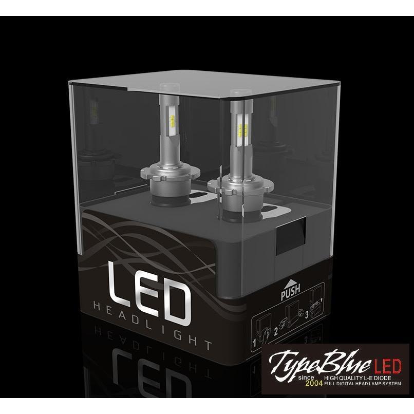 トヨタアクア専用設計 TypeBlue Smart LEDキット30W HIR2 6000K 【永年保証】 typebluejp 02
