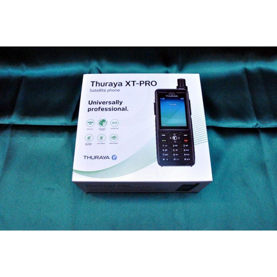 Thuraya(スラーヤ) XT Pro 衛星携帯電話 SIMフリー プリペイドSIM付 typebluejp 02