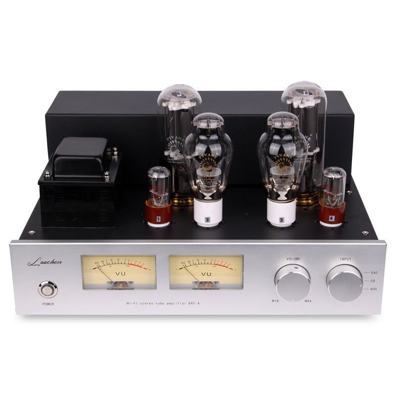 Douk Audio 300B Push 845 真空管 パワーアンプ クラスA ステレオアンプ 25W×2