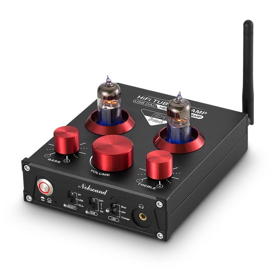 Nobsound P1 RPO HiFi Bluetooth 5.0 真空管プリアンプ USB DAC APTX プリアンプ tysj-online 02
