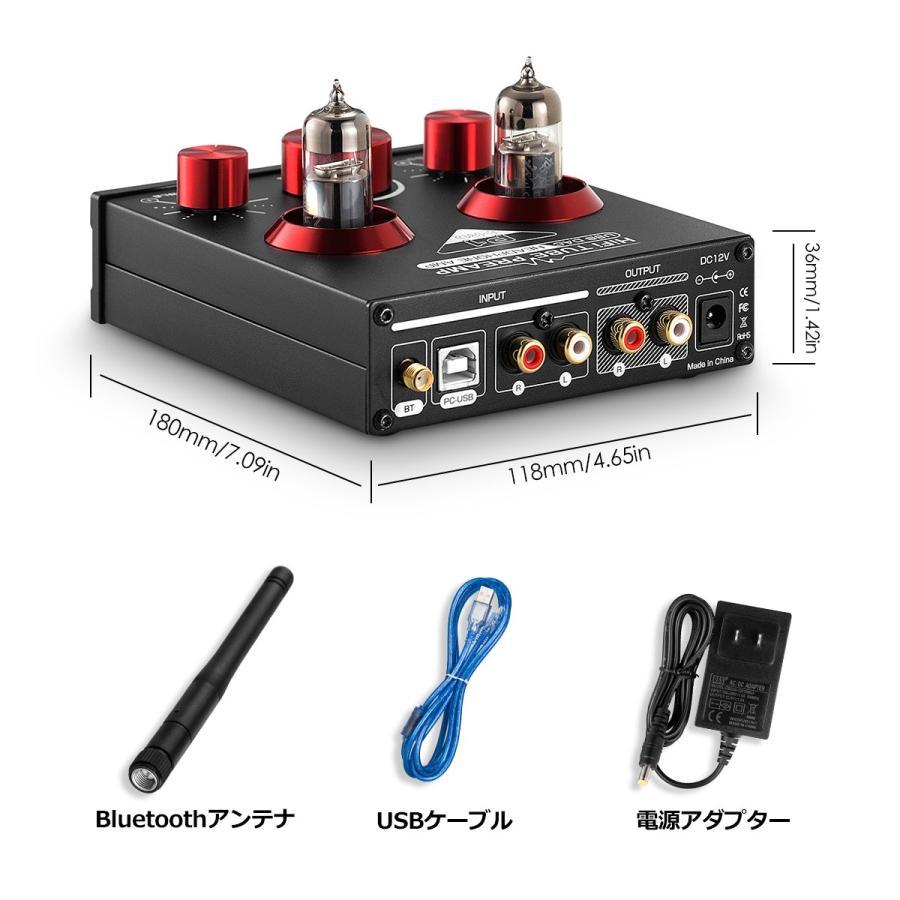 Nobsound P1 RPO HiFi Bluetooth 5.0 真空管プリアンプ USB DAC APTX プリアンプ tysj-online 14