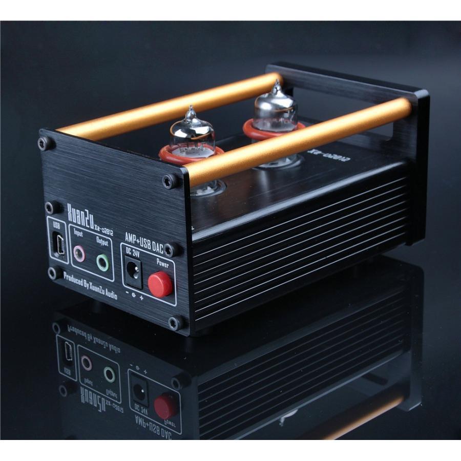 XuanZu Xz-U2012 2P2 + VMOSクラスA ハイブリッド 真空管 アンプ ヘッドホンアンプ USB DAC HiFi プリアンプ USB DAC|tysj-online|02