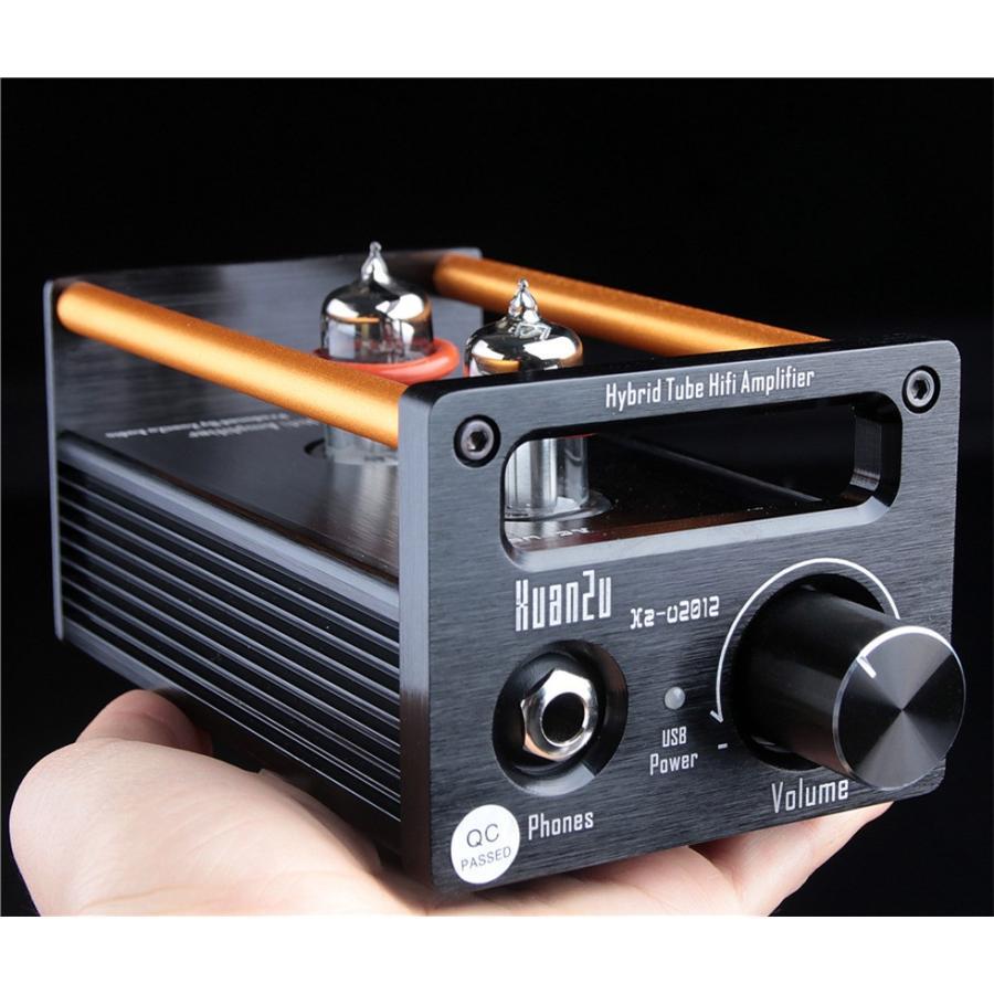 XuanZu Xz-U2012 2P2 + VMOSクラスA ハイブリッド 真空管 アンプ ヘッドホンアンプ USB DAC HiFi プリアンプ USB DAC|tysj-online|12