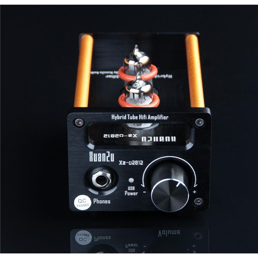 XuanZu Xz-U2012 2P2 + VMOSクラスA ハイブリッド 真空管 アンプ ヘッドホンアンプ USB DAC HiFi プリアンプ USB DAC|tysj-online|13