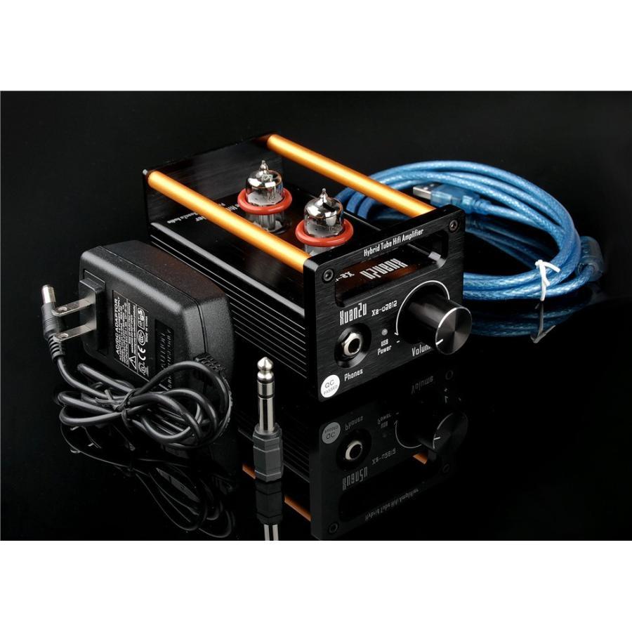 XuanZu Xz-U2012 2P2 + VMOSクラスA ハイブリッド 真空管 アンプ ヘッドホンアンプ USB DAC HiFi プリアンプ USB DAC|tysj-online|03
