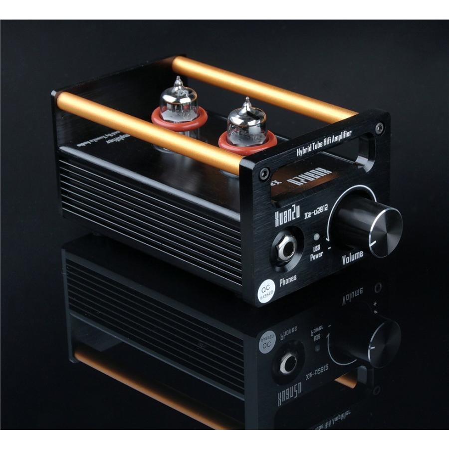 XuanZu Xz-U2012 2P2 + VMOSクラスA ハイブリッド 真空管 アンプ ヘッドホンアンプ USB DAC HiFi プリアンプ USB DAC|tysj-online|06