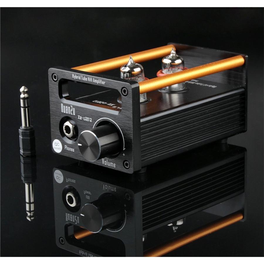 XuanZu Xz-U2012 2P2 + VMOSクラスA ハイブリッド 真空管 アンプ ヘッドホンアンプ USB DAC HiFi プリアンプ USB DAC|tysj-online|08