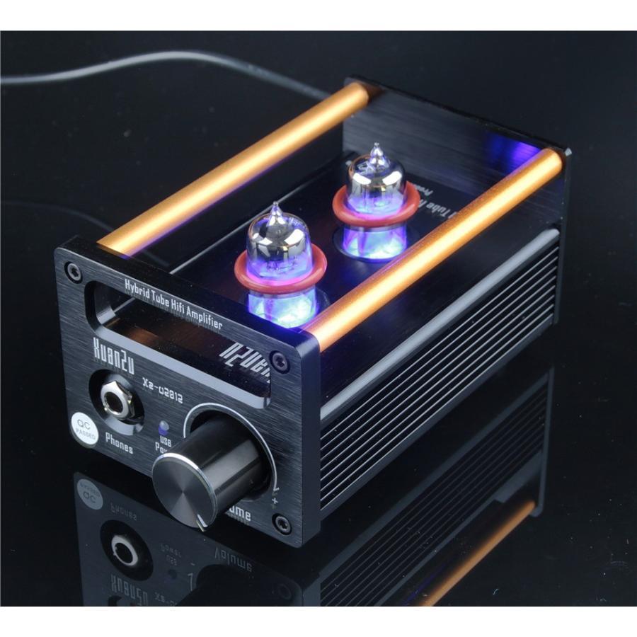 XuanZu Xz-U2012 2P2 + VMOSクラスA ハイブリッド 真空管 アンプ ヘッドホンアンプ USB DAC HiFi プリアンプ USB DAC|tysj-online|09