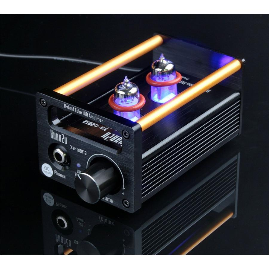 XuanZu Xz-U2012 2P2 + VMOSクラスA ハイブリッド 真空管 アンプ ヘッドホンアンプ USB DAC HiFi プリアンプ USB DAC|tysj-online|10