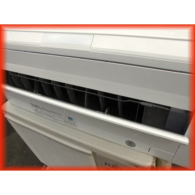 家庭用ルームエアコン 2.2k〜6畳用 富士通 ノクリア AS-R22G-W 自動フィルター掃除機能 2017年製 壁掛け用 現状 冷房 暖房 100V|tyubo110|03
