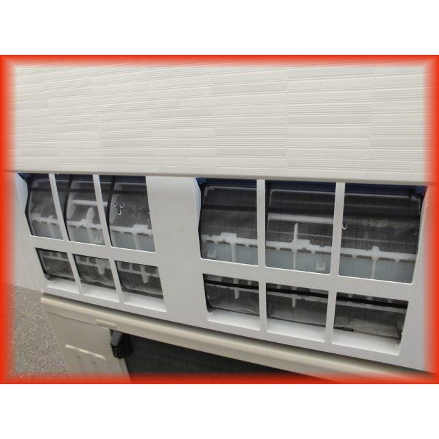 家庭用ルームエアコン 2.2k〜6畳用 富士通 ノクリア AS-R22G-W 自動フィルター掃除機能 2017年製 壁掛け用 現状 冷房 暖房 100V|tyubo110|05