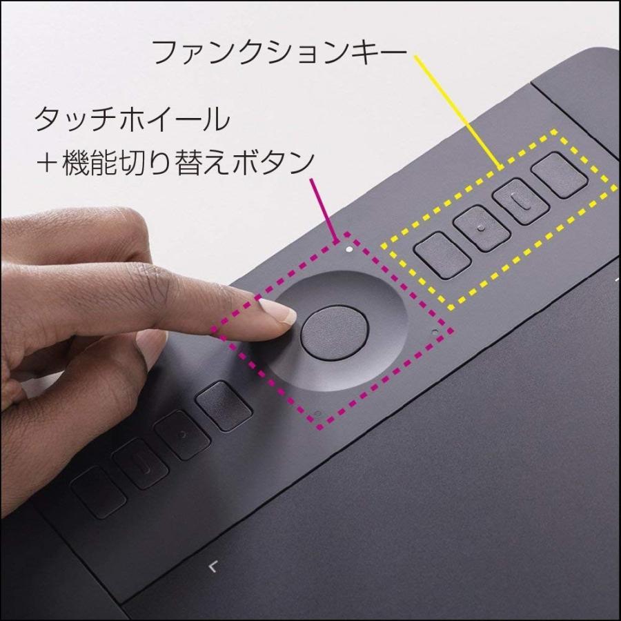 ワコム ペンタブレット intuos Pro Mサイズ 旧モデル2014年6月モデル PTH-651/K1