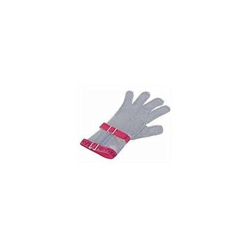ニロフレックス メッシュ手袋5本指 S C-S5白 ショートカフ付/62-6628-45