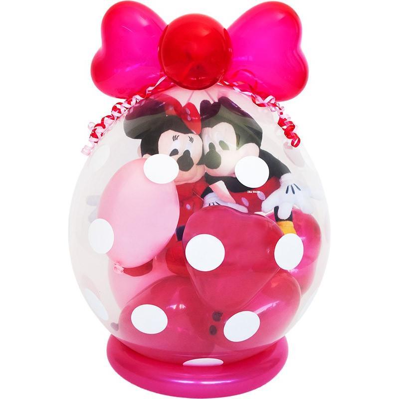 バルーン ミッキー ミニー 電報 ぬいぐるみ ギフト 誕生日 結婚式 お祝い 風船 装飾 お祝いバルーン39
