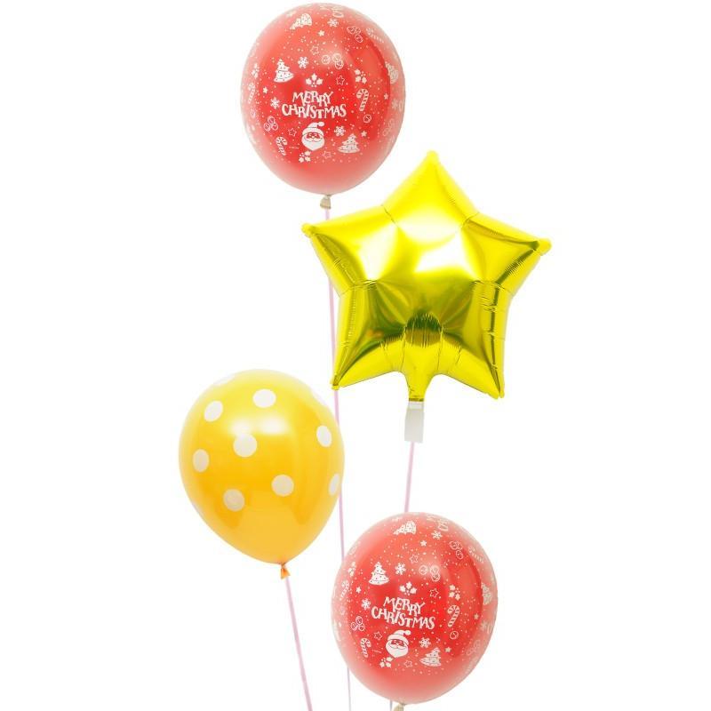 バルーン ギフト クリスマス プレゼント お祝い 電報 風船 装飾 クリスマスバルーン23