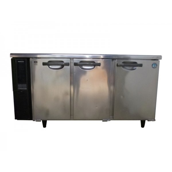 ◆GE2913|台下冷蔵庫 ホシザキ RT-150PTE1 W1500×D450×H800mm 業務用 厨房用 中古 コールドテーブル