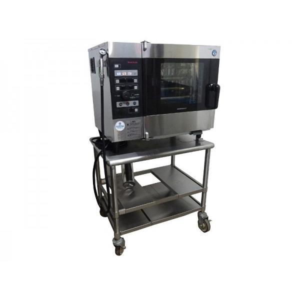GI0810 ◆スチームコンベクションオーブン 2013年製 ホシザキ MIC-5TB3-L 3相200V W850(785)XD620(560)XH1490(690)mm 業務用 中古