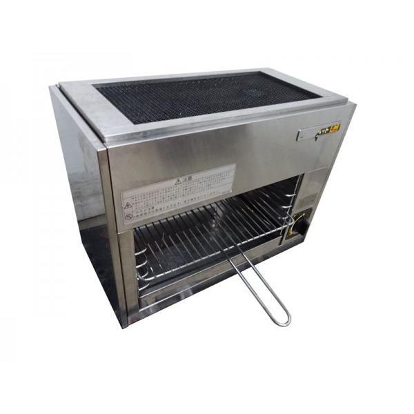 GL1813|グリラー リンナイ リンナイペットミニ 上火式 都市ガス W500×D260×H400mm 業務用 厨房用 中古