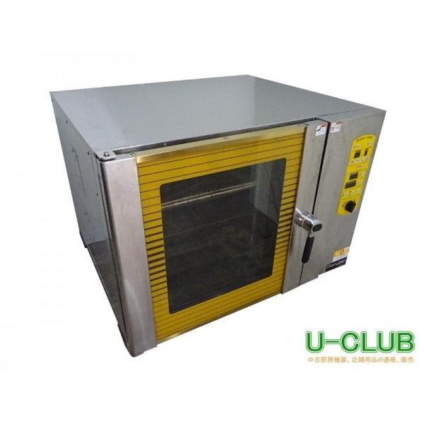●IC1708 ベーカリーコンベクションオーブン 卓上 マルゼン 3相200V MBCO-5 W900XD800XH670mm 中古 業務用