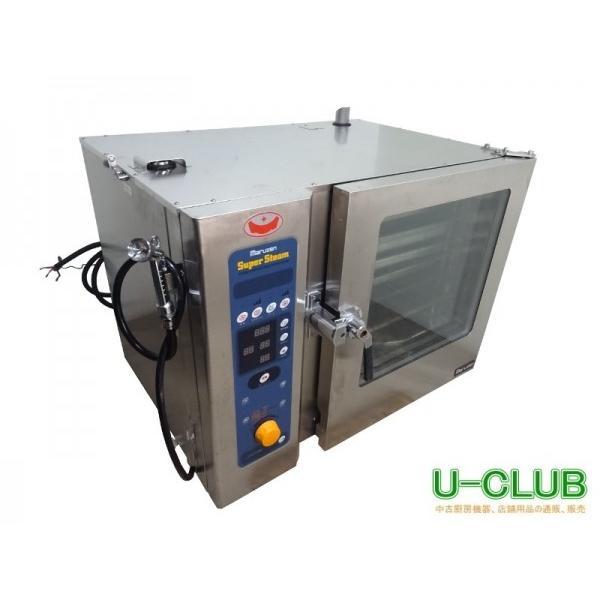 ◆ID0212|スチームコンベクションオーブン マルゼン 3相200V SSC-06SC W1130XD730XH910mm 中古 業務用