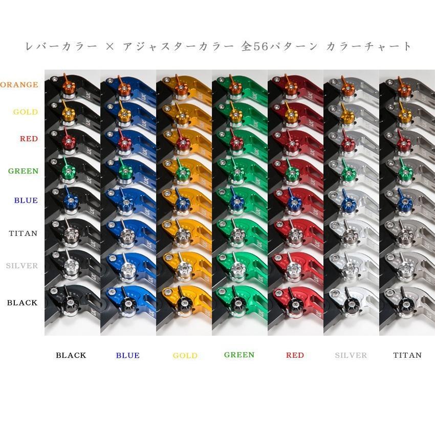 U-KANAYA ユーカナヤ DUCATI モンスターS4 S4R('01〜'06) アルミ レバー セット TYPE-S スタンダード クラッチ ブレーキ|u-cp3|05