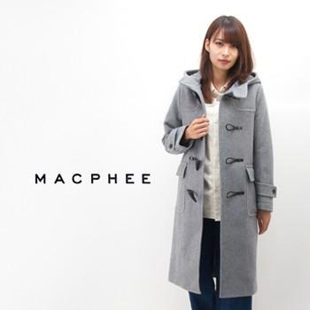 TOMORROWLAND MACPHEE McAfee Ladies Wool Melton Long Duffle Coat (12-08-74-08201HN) (BASIC)