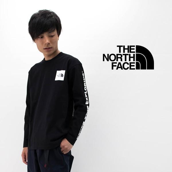 THE NORTH FACE ザノースフェイス メンズ ロングスリーブスリーブグラフィックティー(NT32042)(BASIC)|u-oak