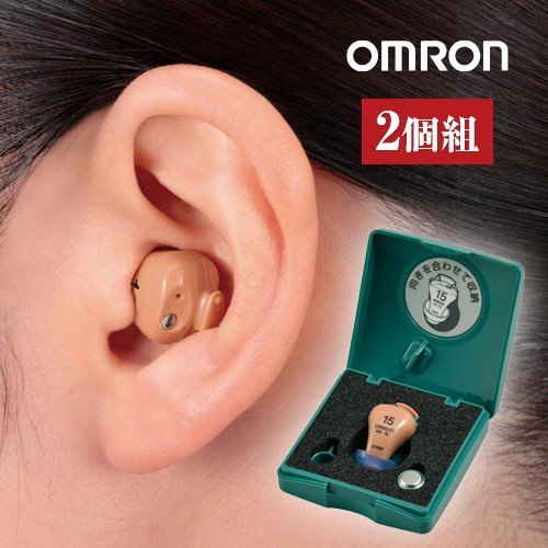 【空気電池付き】オムロン·イヤメイトデジタル AK·15 2個セット