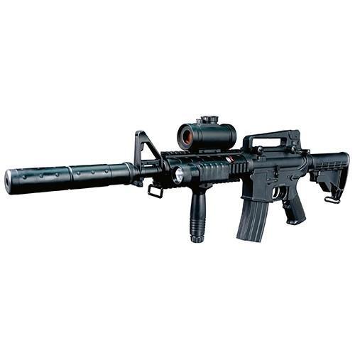 米軍モデルM4電動ライフルエアーガン プレゼント バイオBB弾付き 人気商品