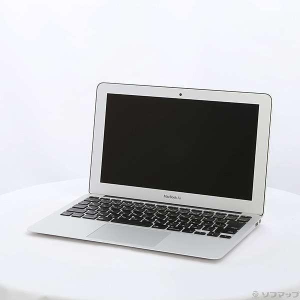〔中古〕Apple(アップル) MacBook Air 11.6-inch Early 2015 MJVP2J/A Core_i5 1.6GHz 4GB SSD256GB 〔10.11 ElCapitan〕〔377-ud〕