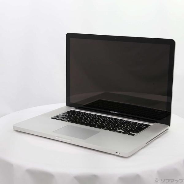 〔中古〕Apple(アップル) MacBook Pro 15-inch Mid 2012 MD103J/A Core_i7 2.3GHz 8GB HDD500GB 〔10.11 ElCapitan〕〔298-ud〕