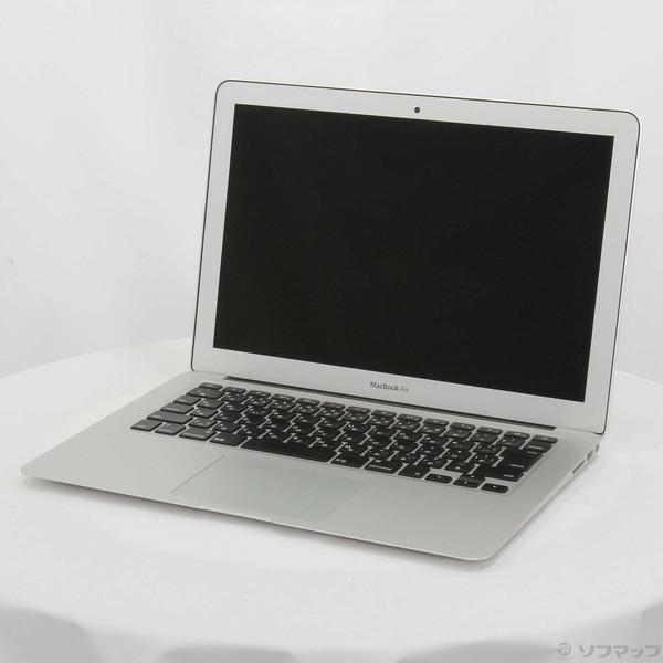 〔中古〕Apple(アップル) MacBook Air 13.3-inch Early 2015 MJVG2J/A Core_i5 1.6GHz 4GB SSD256GB 〔10.10 Yosemite〕〔377-ud〕|u-sofmap